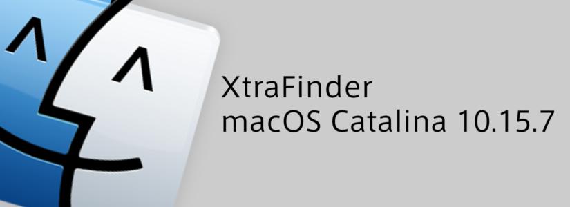 XtraFinderのインストールにはまった話[catalina (10.15.7)]